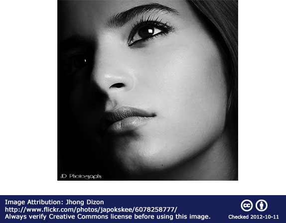 Black and white high contrast portrait by Jhong Dizon
