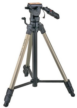 Photo of a Sony VCT870 Tripod on a white background