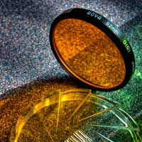 Photograph of a Hoya photographic filter by davidgsteadman (via Flickr)