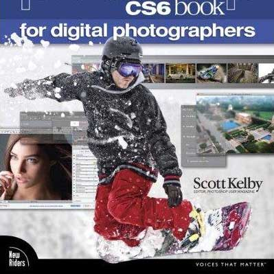 Book Cover: The Adobe Photoshop CS6 Book for Digital Photographers by Scott Kelby
